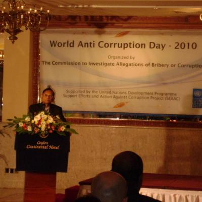 Anti Corruption Day 2010