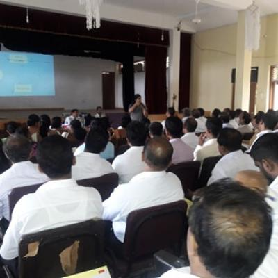 Prevention awareness to 90 Principals of Zonal Education Office Walassmulla