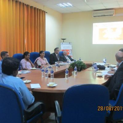 European Union Visit CIABOC, Sri Lanka - GSP+ hope to Extend