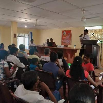 Prevention Programs for officers of Farmers Organizations of Madatugama / Galkiriyagana area and Public Officers of Mahaweli Authority
